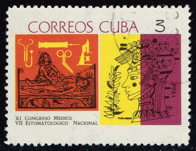 Cuba **U-Pick** Stamp Stop Box #134 Item 4