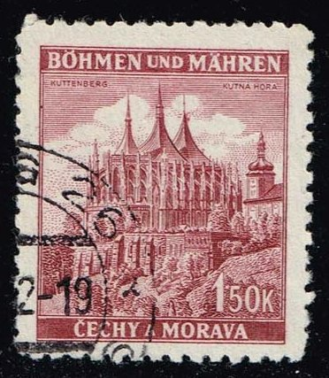 Bohemia & Moravia **U-Pick** Stamp Stop Box #134 Item 36