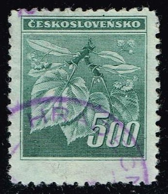 Czechoslovakia **U-Pick** Stamp Stop Box #134 Item 40
