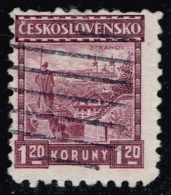 Czechoslovakia **U-Pick** Stamp Stop Box #134 Item 46