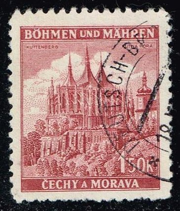 Bohemia & Moravia **U-Pick** Stamp Stop Box #135 Item 15