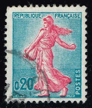 France **U-Pick** Stamp Stop Box #138 Item 28