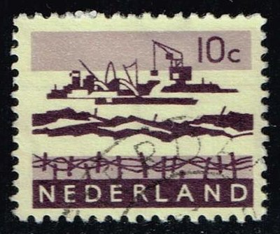 Netherlands **U-Pick** Stamp Stop Box #138 Item 48