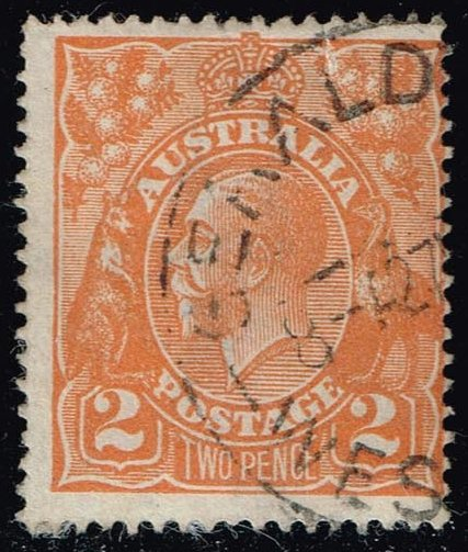 Australia #27 King George V; Used (3.25)