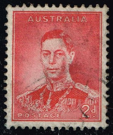 Australia #169 King George VI; Used (0.60)
