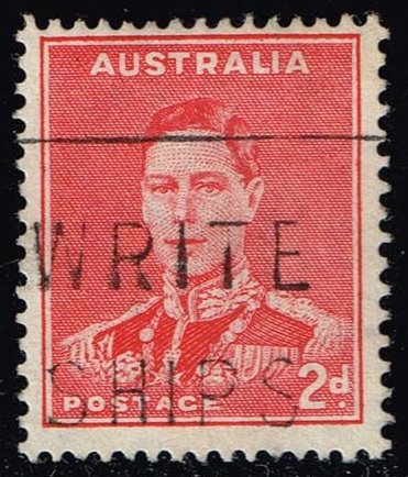 Australia #182 King George VI; Used (0.30)