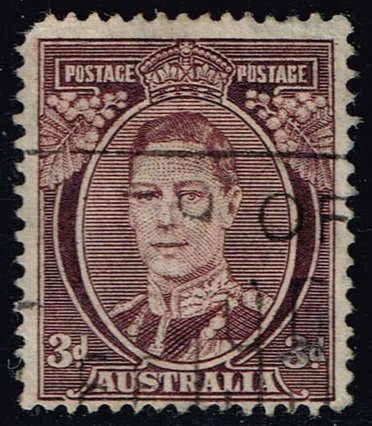 Australia #183A King George VI; Used (0.30)