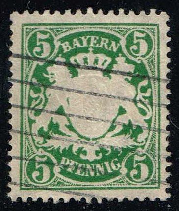 Germany-Bavaria #62 Coat of Arms; Used (0.65)