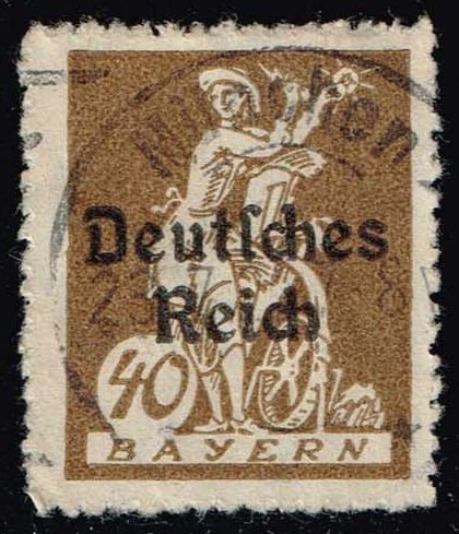 Germany-Bavaria #261 Electricity and Light; Used (1.60)
