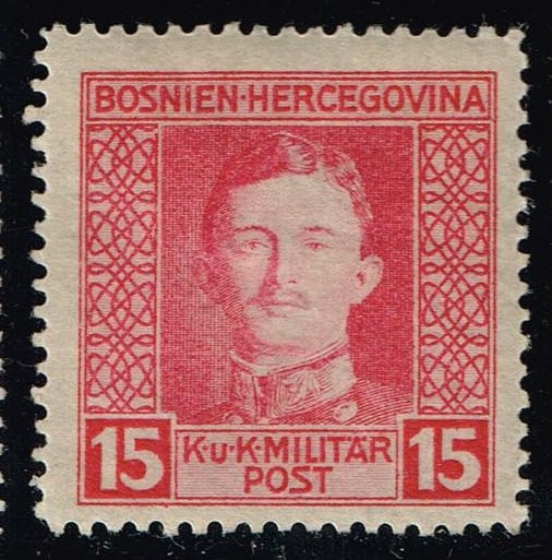 Bosnia-Herzegovina #110 Emperor Karl I; Unused (0.25)