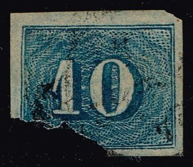 Brazil #37 Numeral; Used - Faulty (14.50)