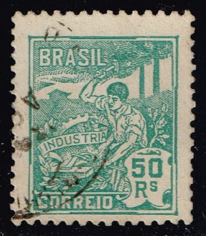 Brazil #221 Industry; Used (0.50)