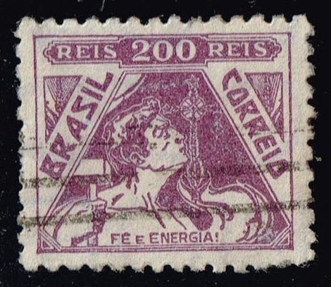Brazil #491 Allegory of Faith and Energy; Used (0.50)