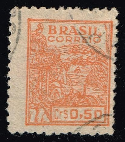 Brazil #661A Agriculture; Used (0.25)