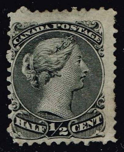 Canada #21a Queen Victoria; Unused (150.00)