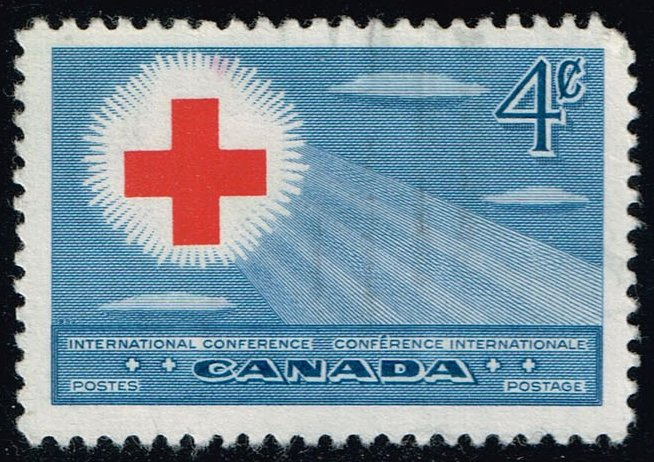 Canada #317 Red Cross Conference; Used (0.25)