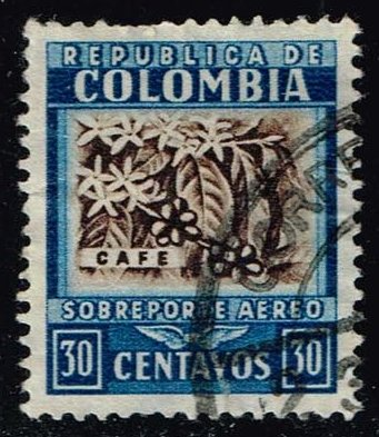 Colombia #C102 Coffee; Used (0.25)