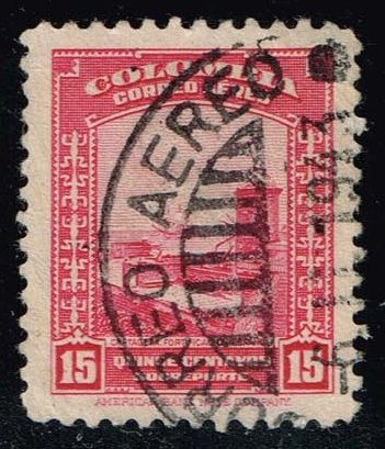 Colombia #C123 Spanish Fortifications; Used (0.25)