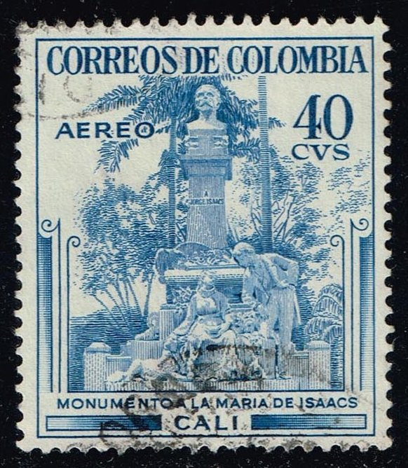 Colombia #C245 George Isaacs Monument - Cali; Used (0.25)