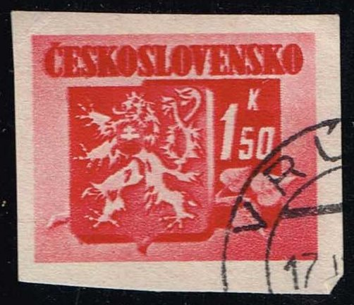 Czechoslovakia #268 Coat of Arms; CTO (0.25)