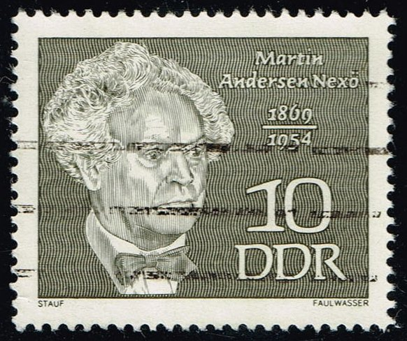 Germany DDR #1077 Martin Anderson Nexo; Used (0.25)