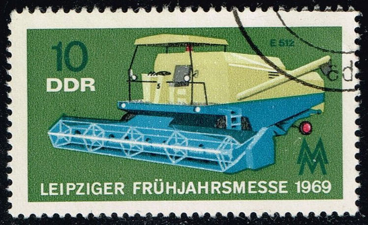 Germany DDR #1085 Combine; CTO (0.25)