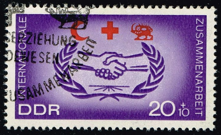 Germany DDR #B142 International Cooperation Year; CTO (0.25)