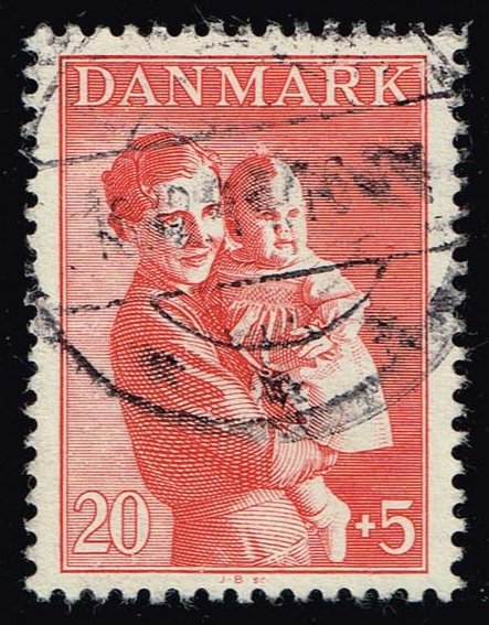 Denmark #B13 Queen Ingrid & Princess Margrethe; Used (0.25)