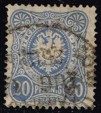 Germany #40 Imperial Eagle; Used (1.50)