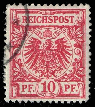 Germany #48 Imperial Eagle; Used (1.40)