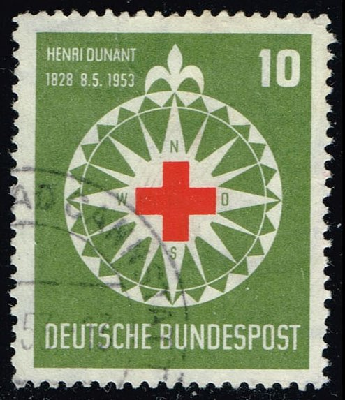 Germany #696 Red Cross and Compass; Used (6.00)
