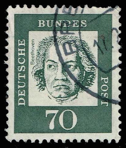 Germany #835 Ludwig van Beethoven; Used (0.25)