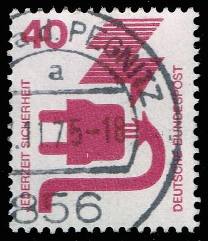 Germany #1079 Electrical Safety; Used (0.25)