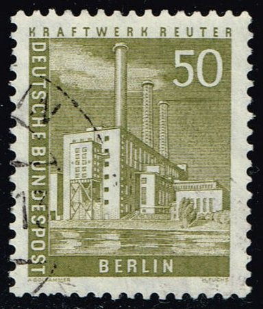 Germany #9N132 Reuter Power Plant; Used (0.85)
