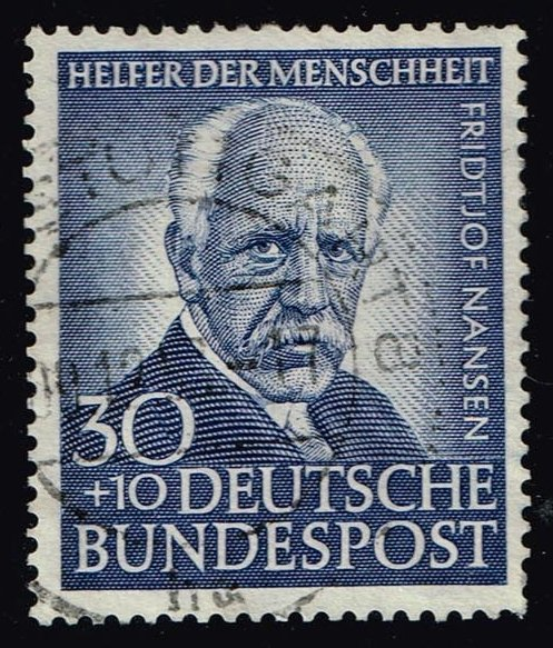 Germany #B337 Fridjtof Nansen; Used (52.50)