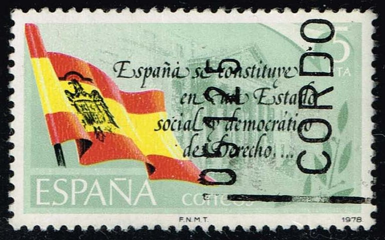 Spain #2133 New Constitution; Used (0.25)