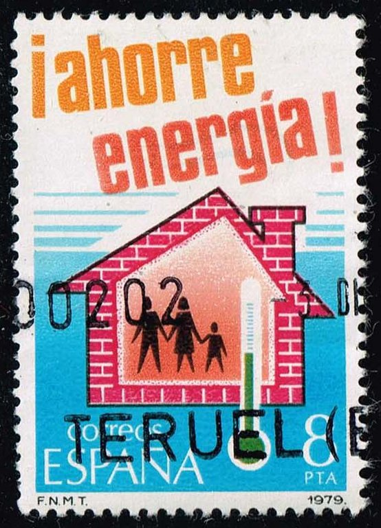 Spain #2136 Energy Conservation; Used (0.25)
