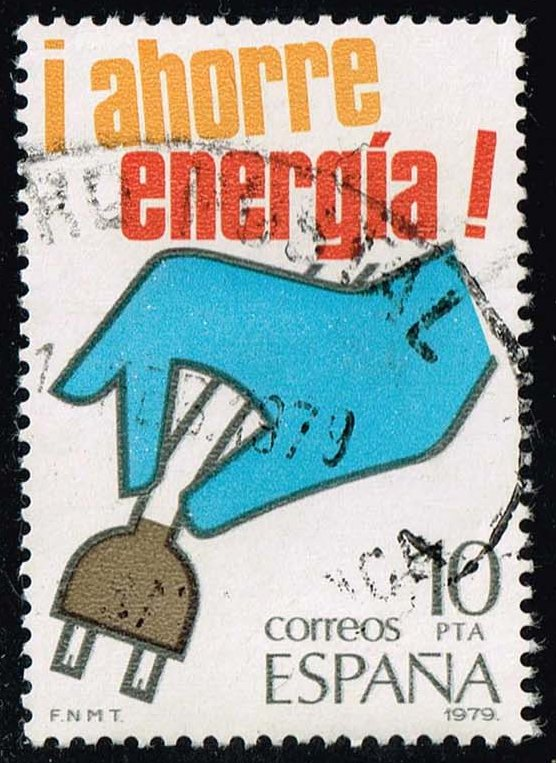 Spain #2137 Energy Conservation; Used (0.25)