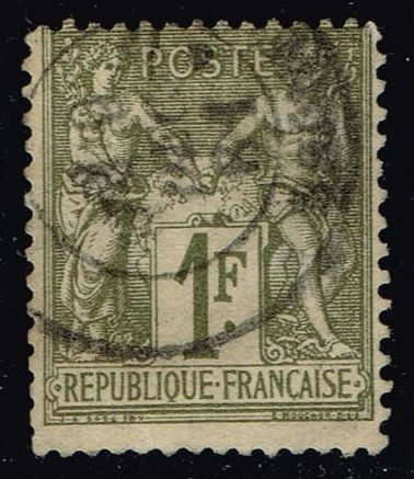 France #76 Peace and Commerce; Used (11.00)