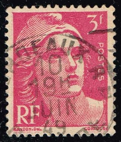 France #595 Marianne; Used (0.25)