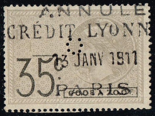 France Revenue 35c; Used
