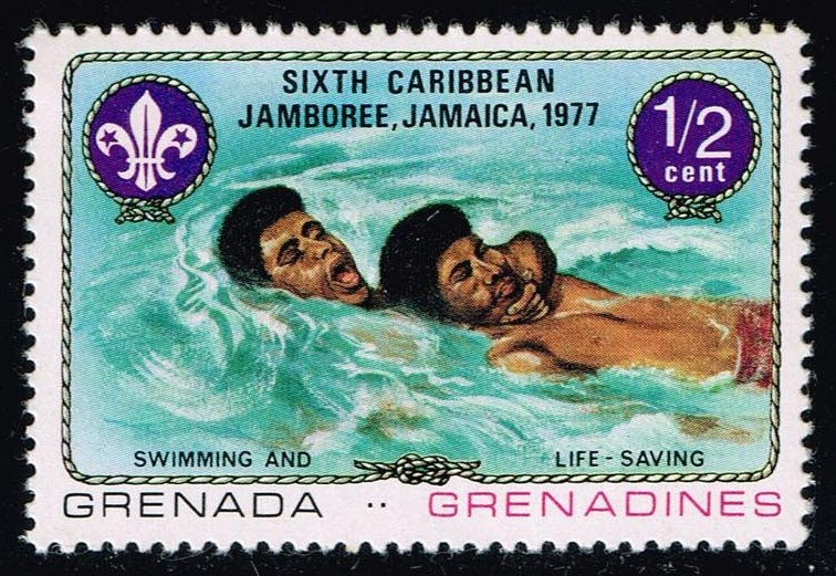 Grenada-Grenadines #241 Swimming and Lifesaving; MNH (0.25)