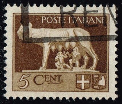 Italy #213 Romulus and Remus; Used (0.25)