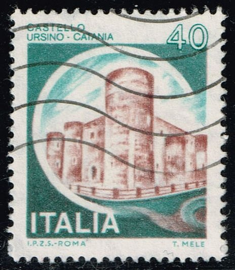 Italy #1411 Ursino Castle; Used (0.25)