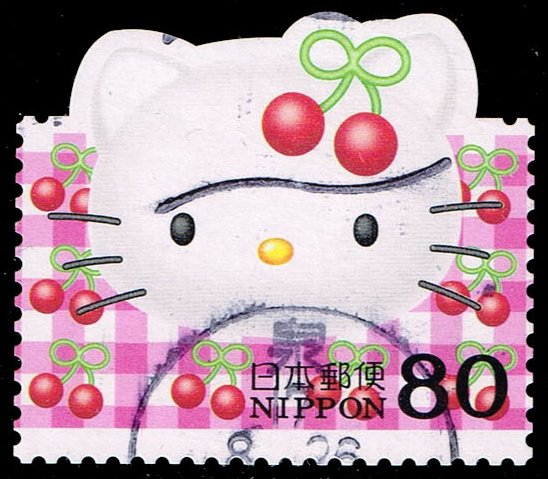 Japan #2884a Hello Kitty; Used (0.55)