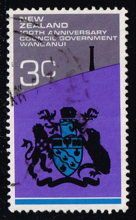 New Zealand #495 Cent. Of Council Govt; Used (0.30)