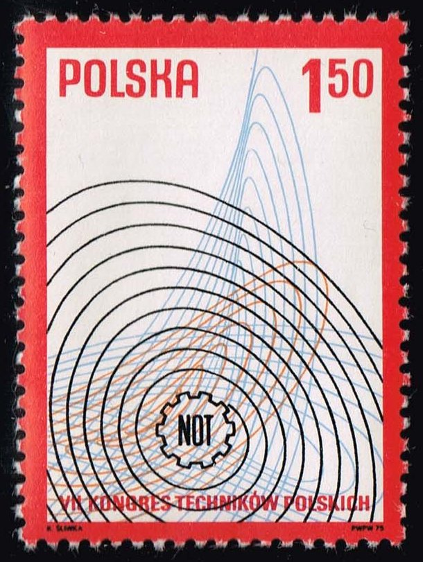 Poland #2208 7th Congress of Polish Engineers; MNH (0.25)