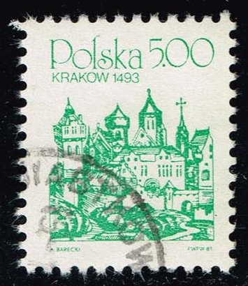 Poland #2457 Krakow; Used (0.25)