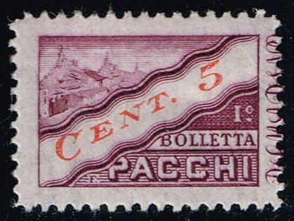 San Marino #Q16 Parcel Post Left Half; Unused (0.25)