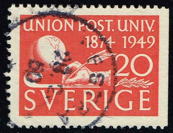 Sweden #415 75th Anniv. of the UPU; Used (0.25)